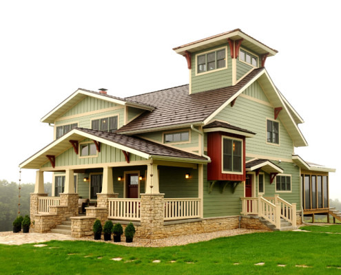 arts and crafts style home