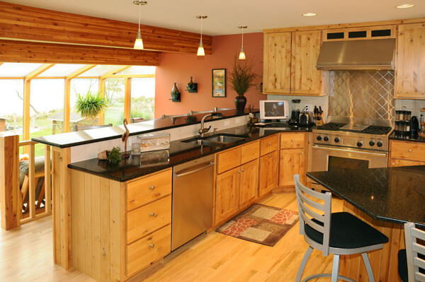 Natural Element Home Builders in Madison, WI - Kitchen Photo