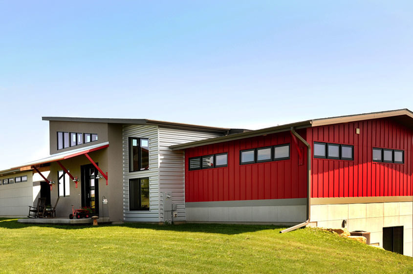 Modern house design modern home builder wisconsin - Design homes wi ...