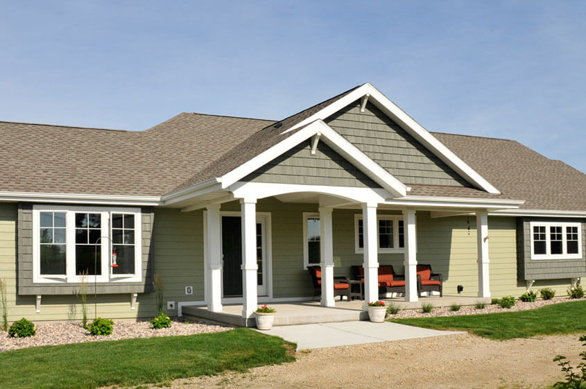 ranch home exteriors