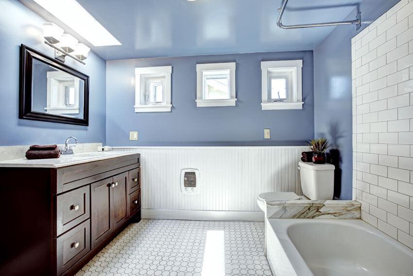 Prairie Style Home Bathroom Wisconsin