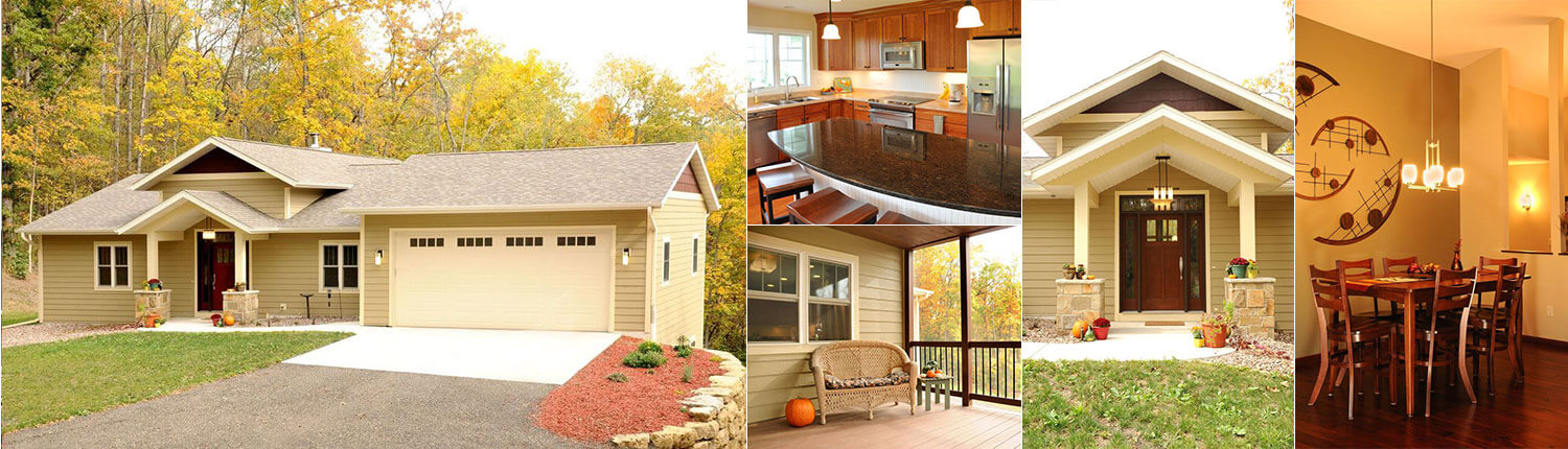 Traditional Collection from Brio Design Homes, Home Builders in Madison, WI