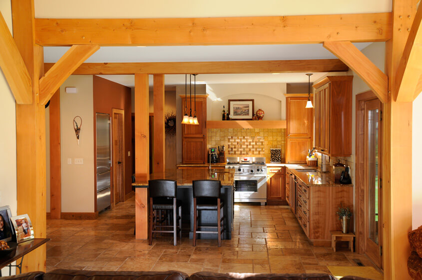 Timber Style Home Builders In Madison Wisconsin