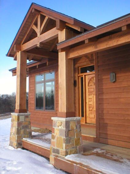 timber frame home builder