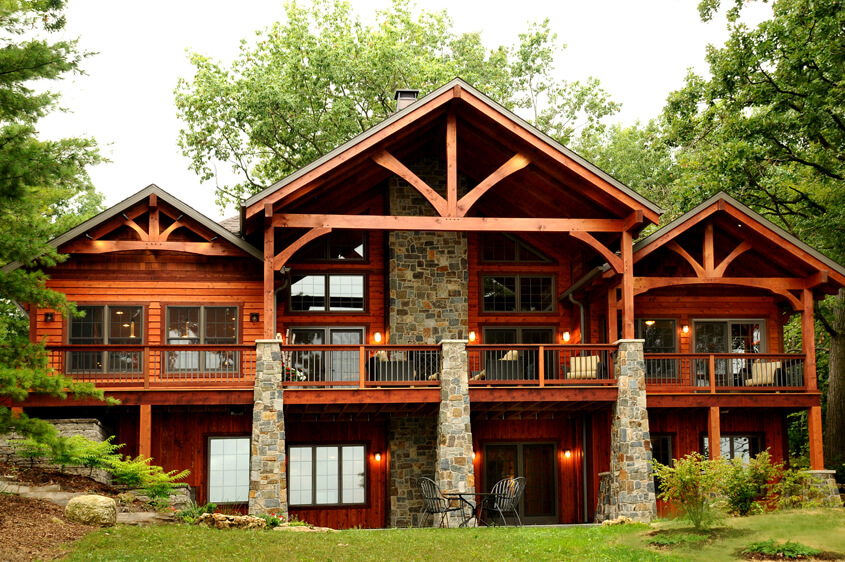 Timber homes from brio house builder in madison wi - Design homes wi ...