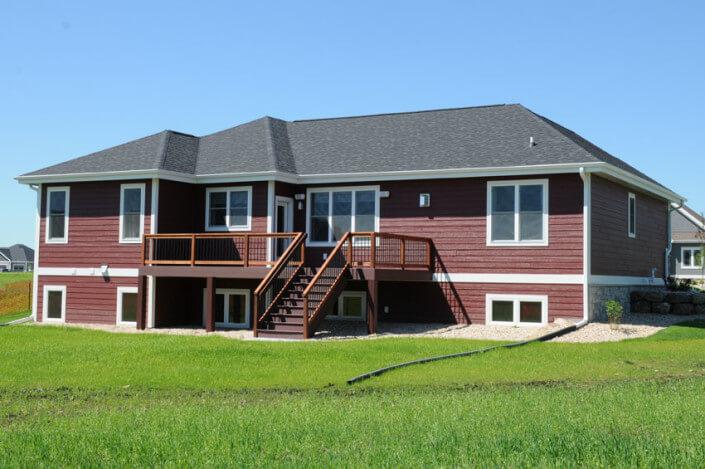 Craftsman Ranch Style Brio Design Homes Custom Home