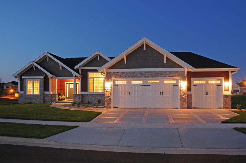 Craftsman Ranch Style - Brio Design Homes: Custom Home ...