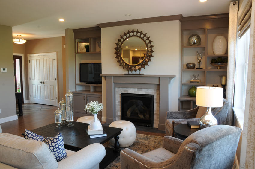 Craftsman Ranch Style - Brio Design Homes: Custom Home Builders In