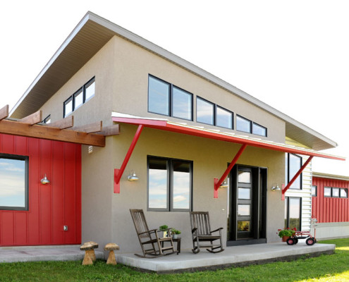 modern home builders wisconsin