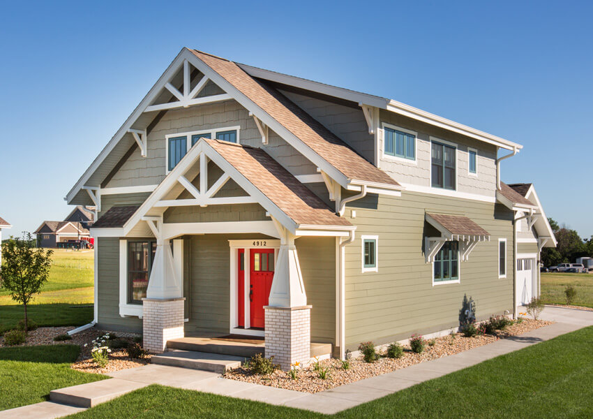 Craftsman house design craftsman home builders wisconsin for Custom craftsman home builders