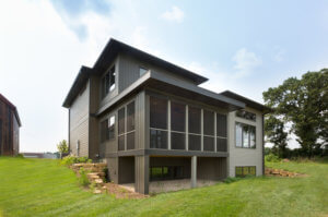 modern home builders madison wi