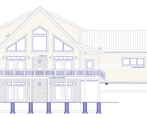 Log Style Home