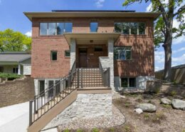brick mission style home