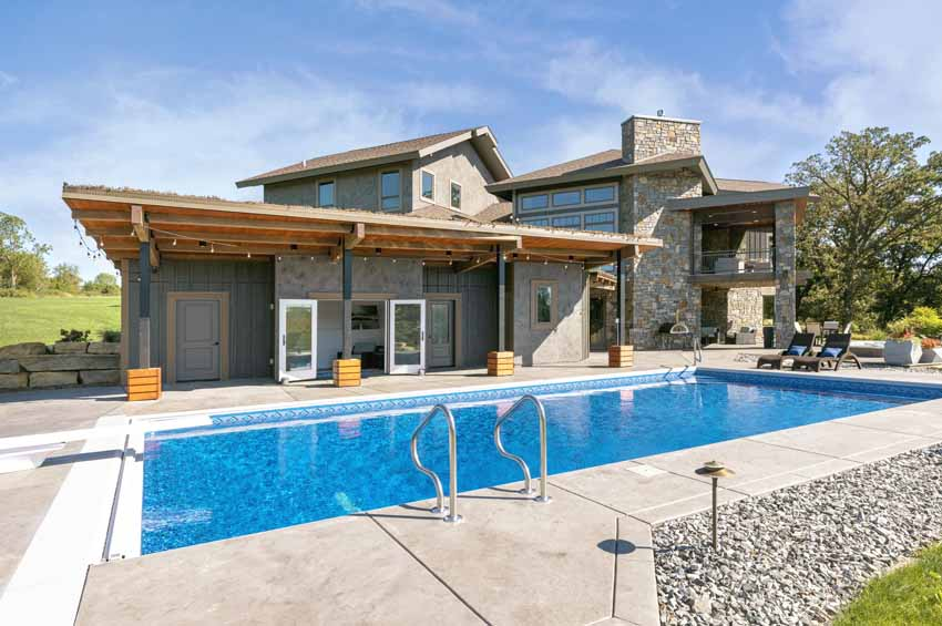 pool house addition